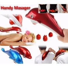 Alat Pemijat Dolphin Massager RED / BLUE
