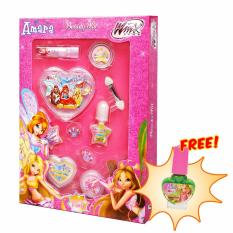 Amara Beauty Kit Fairy Free Kutek Aman Mudah Dikelupas