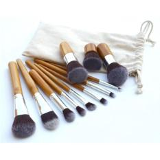 ANGEL - Kuas Make Up - Foundation Eyeshadow Eyeliner Lip Makeup Brushes and Applicators Cosmetic Tool Soft - 11 Pcs