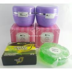 Anisa Skincare Paket Cream Anisa New Original BPOM tanpa Sabun ( hanya Krim Siang Malam )