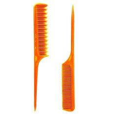 Be U Sisir Rambut Sasak + Rata 2 in 1 - Orange