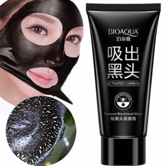 BIOAQUA Cherryspree Carbon Original Remove Blackhead Masker Komedo Perawatan Kulit Masker Kontrol Jerawat Minyak Angkat Komedo