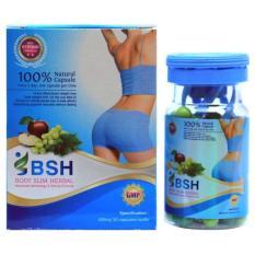 BSH Body Slim Herbal Capsul Pelangsing Badan Original