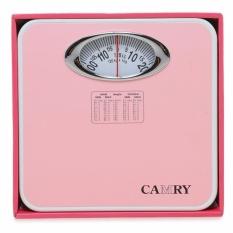 Camry timbangan badan manual jarum BR 9015 (pink)
