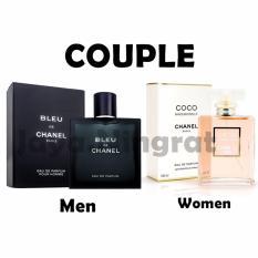 Chnel Blleu Parfum EDP Pria 100ml + Cco Chnel Mdemosel Parfum EDP Wanita 100ml