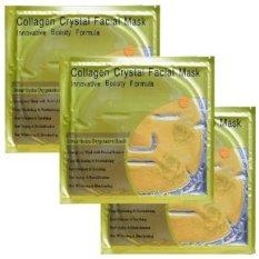 Collagen Crystal Facial Mask - Masker Wajah Original - 3 Sachet