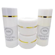 Cream Hetty Nugrahati (HN) Crystal Original Cream Pencerah Cream Anti Jerawat - 4 Item