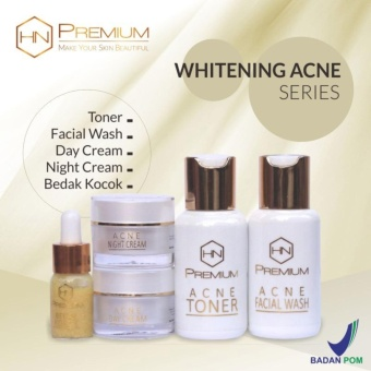 Cream HNPremium BPOM Whitening Acne 5in1 - Cream Pemutih Wajah - Cream Jerawat - Serum Jerawat