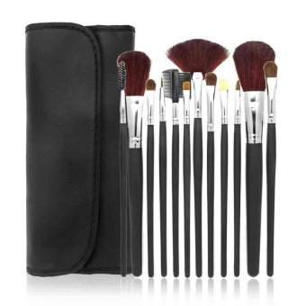 Delice Cosmetic Professional Make Up Brushes M4 Set - 12 pc