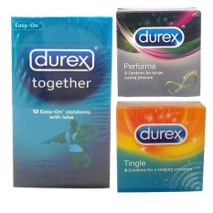 Durex Kondom Big Party - Together, Performa, Tingle