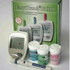 Easy Touch Alat Cek Darah Gula Darah, Kolestrol dan Hb