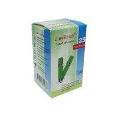 Easy Touch Blood Glucose Strip isi 25