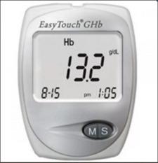 Easy Touch GCHb Cek Gula Darah - Kolesterol - Hemoglobin - 3 in 1