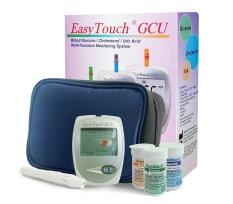 EasyTouch - Easytouch 3In1 Gcu Alat Tes Glukosa, Asam Urat, Kolesterol - Putih