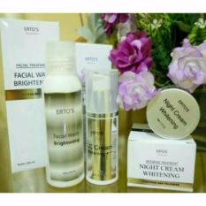 Ertos Paket WHITENING (CC Cream+Night Cream+Facial Wash)