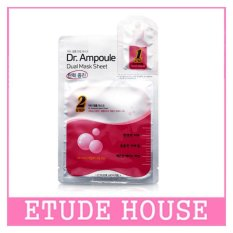 ETUDE HOUSE Dr.Ampoule Dual Mask Sheet (Lifting Care) 2ml + 24ml