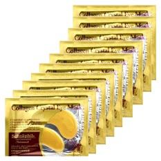 Eye Care Masker Mata - Gold Eye Mask Collagen - Isi 20 Pasang