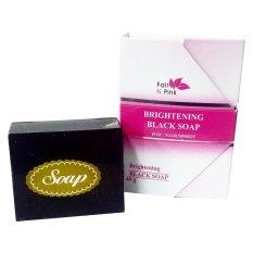 Fair N Pink Brightening Black Soap Original-40gr