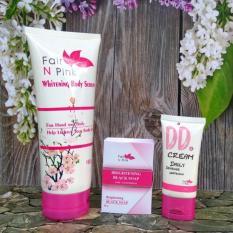 Fair N Pink Paket Lengkap DD Cream + Body Serum + Black Soap