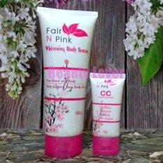 Fair N Pink Paket Serum dan CC Cream
