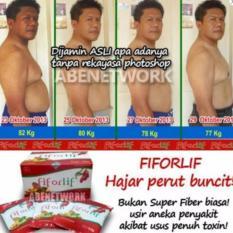 Fiforlif Asli Pelangsing Perut Diet Detox Herbal Alami