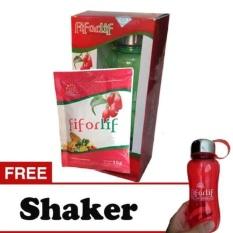 Fiforlif Original & Legal isi 6 sachet with Fiforlif Shaker