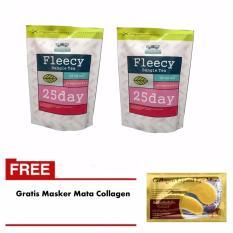 Fleecy Bangle Tea 2 Pcs Gratis 1 Pcs Masker Mata Collagen