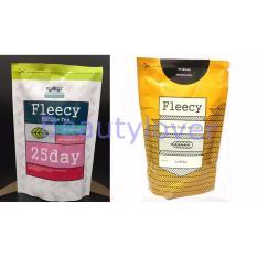 Fleecy Bangle Tea-Slimming Tea-Teh Pelangsing - 1Pcs + Fleecy Scrub Coffee 1Pcs