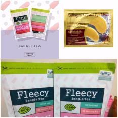 Fleecy Bangle Tea-Slimming Tea-Teh Pelangsing - 1Pcs Gratis Masker Mata Collagen 1 Sachet