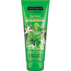 FREEMAN Green Tea and Orange Blossom Peel-off Gel Mask