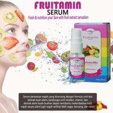 Fruitamin Serum Fruit Brightening & Whitening Original BPOM - 20ml - 1 Botol