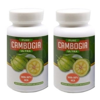 Garcinia Pure Cambogia Ultra Set 2 Pcs Pelangsing Badan Herbal Original USA By BiotrimLabs