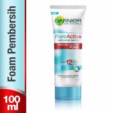 Garnier Pure Active Acne & Oil Clearing Foam - 100mL