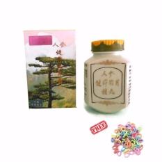 Ginseng Kianpi Pil / Kapsul Penambah Berat Badan Herbal - 60 kapsul / 1 Botol + Free Ikat Rambut - 1 Pcs