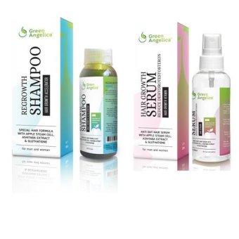 Green Angelica Obat Pencegah Rambut Rontok Alami