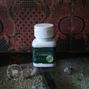Green World Spirulina Plus - 200mg