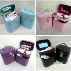 GROSIR - Tas Kosmetik / Tempat Makeup / Beauty Case / Box Make Up Full Color