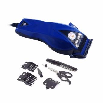 Happy King HK-900 Profesional Hair Clipper Trimmer - Mesin Potong Rambut - Biru