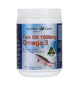 Healthy Care Omega 3 Fish Oil 1000mg - 400caps