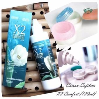 X2 Comfort - Cairan Pembersih Softlens - 120ml