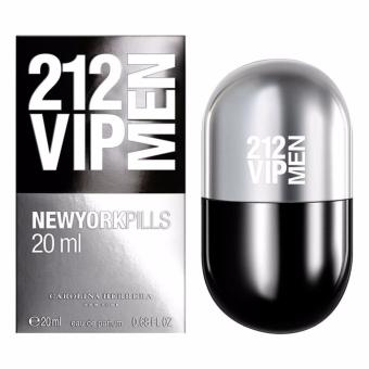 Carolina Herrera 212 VIP MEN Pills EDT - 20 ML