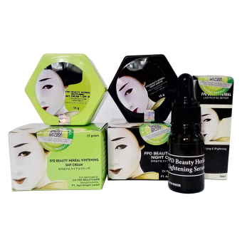 Magic Glossy - Paket Day Cream Night Cream & Serum - FPD Beauty Herb - 1 Paket ...