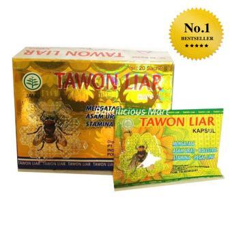 Tawon Liar Mengatasi Asam Urat Kolestrol Pegal Linu - 1 box 20sachet. >>>>