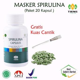 Bafin Headware Brd011 Buff Masker Multifungsi Motif Coc Clash Of Source · Tiens Masker Spirulina 20