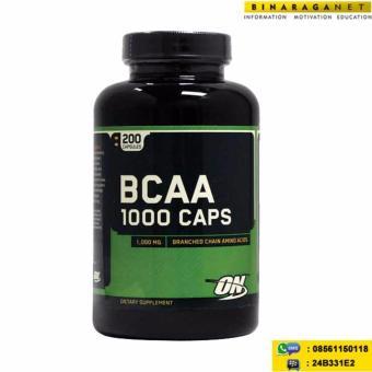 Optimum Nutritiom BCAA 1000mg 200 Capsul