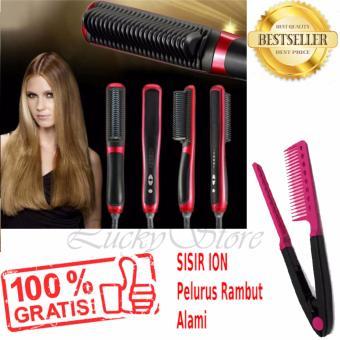 Lucky - Catok Sisir Fast Hair Straightener ASL 908 Sisir Catok Pelurus  Rambut + Gratis Sisir.      59155aacb3