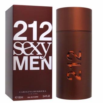 Carolina Herrera 212 Sexy For Men EDT 100ml Original