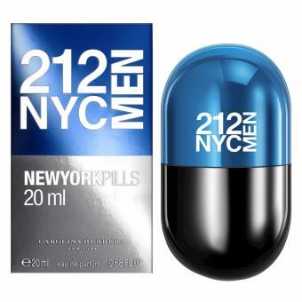 Carolina Herrera 212 NYC Men Pills EDT - 20 ML