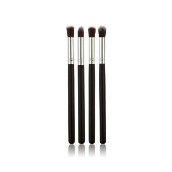 Pro 4Pcs Makeup Cosmetic Tool Eyeshadow Powder Foundation Blending Brush Set - intl