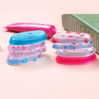 FashionDoor 10pcs Blender Silicone Sponge Makeup Puff For Foundation BB Cream Essential E - intl